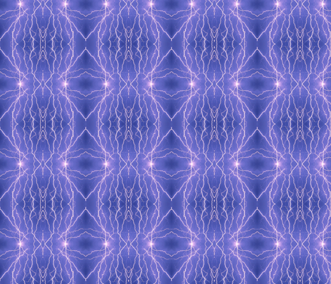 Lightning in diamonds- purple- blue fabric by onestitchdesigns on Spoonflower - custom fabric