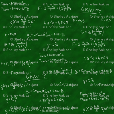 Gravity Lesson - Chalk on Chalkboard!