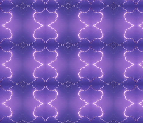 Timed Lightning fabric by onestitchdesigns on Spoonflower - custom fabric