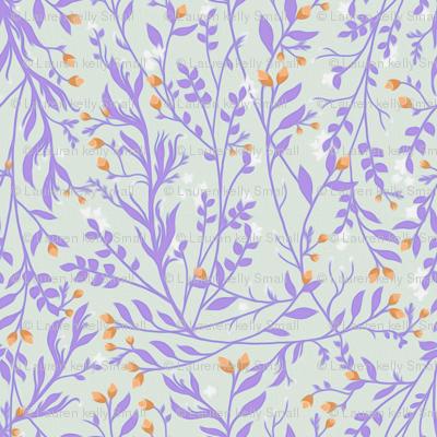Lavender Vine and Orange Blossom