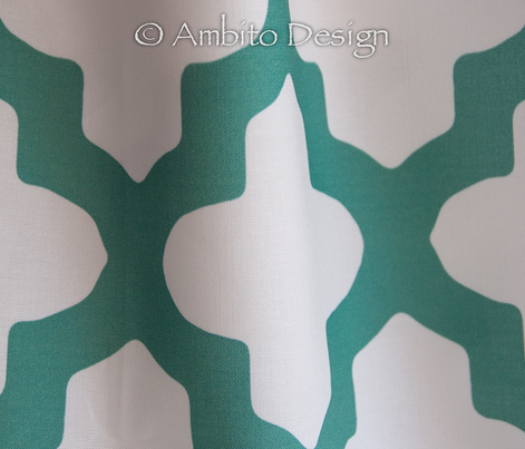 Moroccan_Emerald Green or Teal
