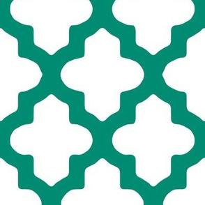 Moroccan_Emerald Green or Teal