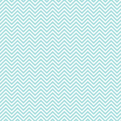 chevron pinstripes light teal fabric by misstiina on Spoonflower - custom fabric