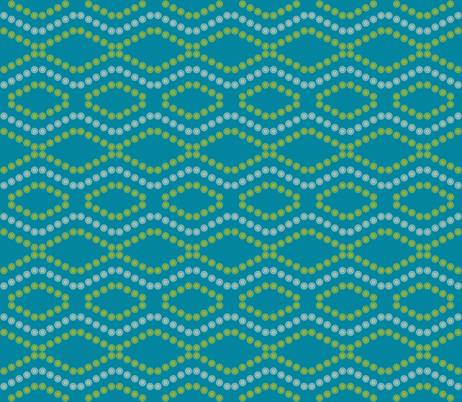 Chevron_spiro fabric by pearl&phire on Spoonflower - custom fabric