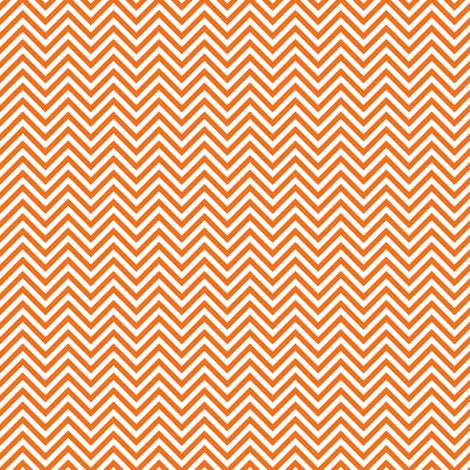 chevron pinstripes orange fabric by misstiina on Spoonflower - custom fabric
