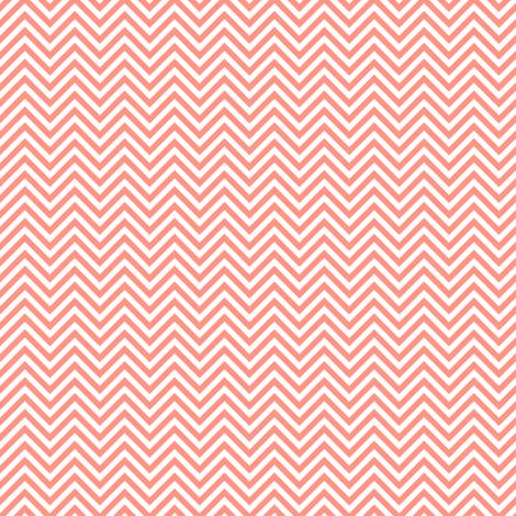 chevron pinstripes peach fabric by misstiina on Spoonflower - custom fabric