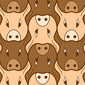 01439002 : pig head 2 : FN