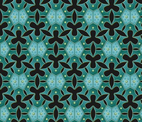 night algae fabric by bippidiiboppidii on Spoonflower - custom fabric
