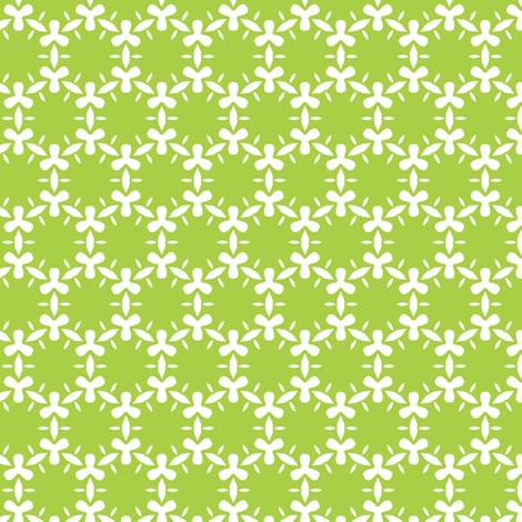 Blooming algae fabric by bippidiiboppidii on Spoonflower - custom fabric