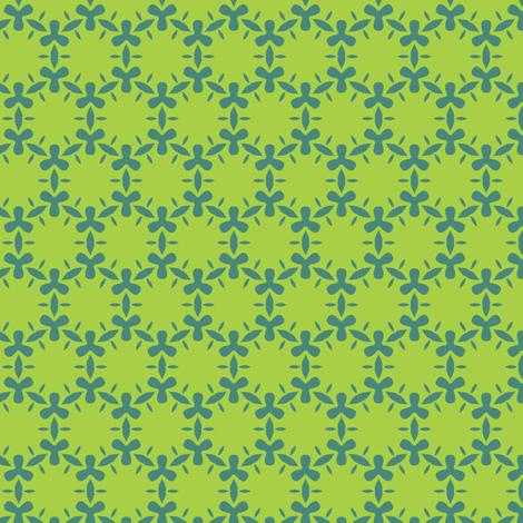 ditzy algae fabric by bippidiiboppidii on Spoonflower - custom fabric