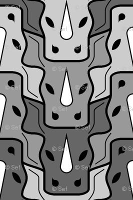 rhino head 3