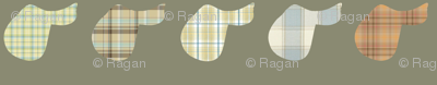 Plaid Saddles - the softer side
