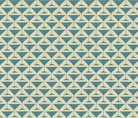 Straight Up Martini fabric by spugnardidesign on Spoonflower - custom fabric