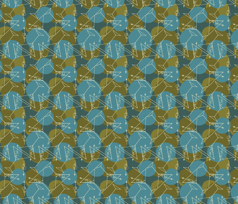 tipsy martini fabric by spugnardidesign on Spoonflower - custom fabric