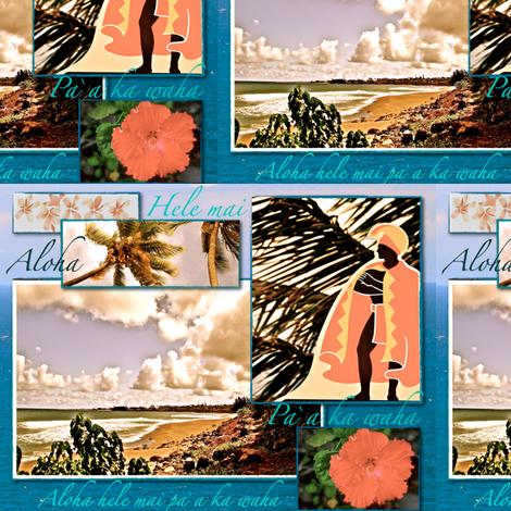 King Ahola fabric by walkwithmagistudio on Spoonflower - custom fabric