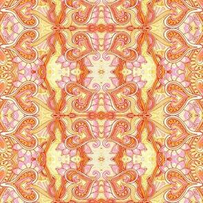 Orange Sherbet Valentine