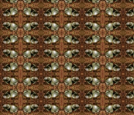 Sweetly Sleeping fabric by marchhare on Spoonflower - custom fabric