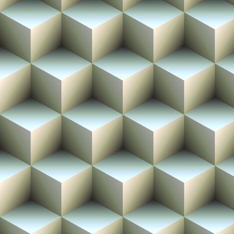 Ambient Cubes fabric by bonnie_phantasm on Spoonflower - custom fabric