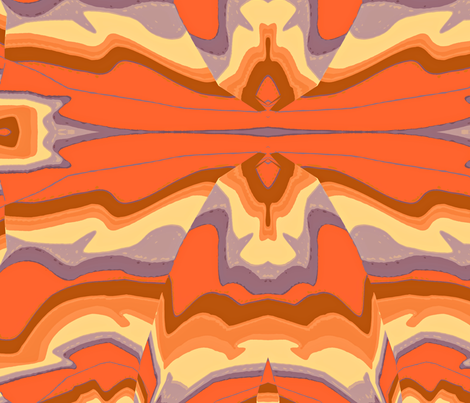 Grand Canyon fabric by otterspiel on Spoonflower - custom fabric