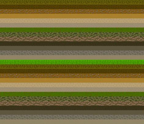 Soil Formation Stripes fabric by mongiesama on Spoonflower - custom fabric