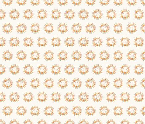 Raro Fabrics Snowflake fabric by rarofabrics on Spoonflower - custom fabric