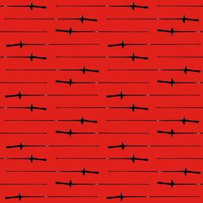 Foil, Red