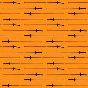 Foil, Orange