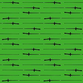Foil, Green