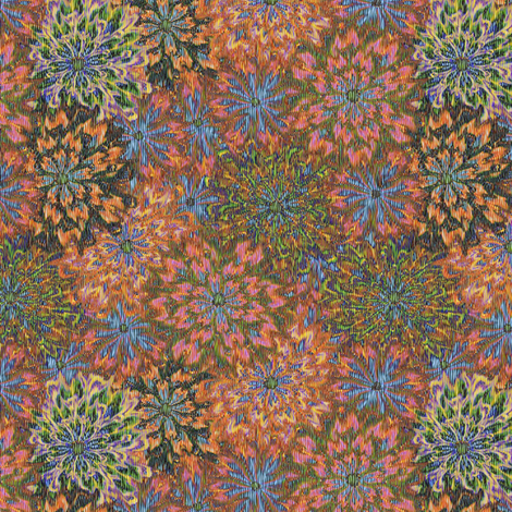 a_floral_tapestry autumn haze fabric by glimmericks on Spoonflower - custom fabric