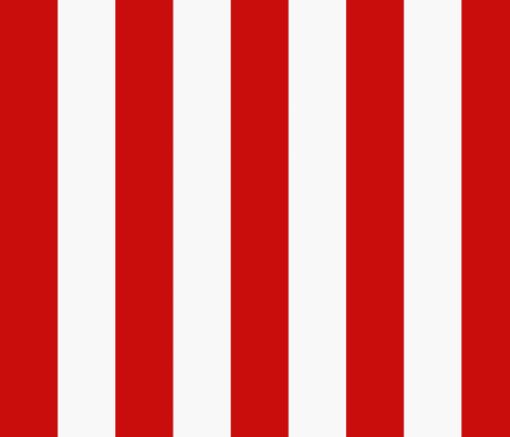 Red and White Stripe fabric by trizzuto on Spoonflower - custom fabric