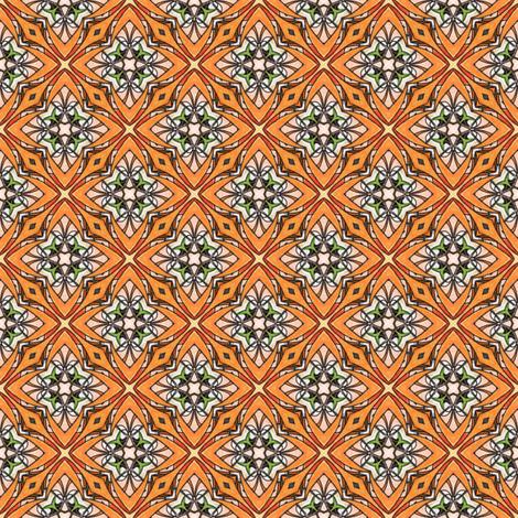 Pariku's Star Tiles fabric by siya on Spoonflower - custom fabric