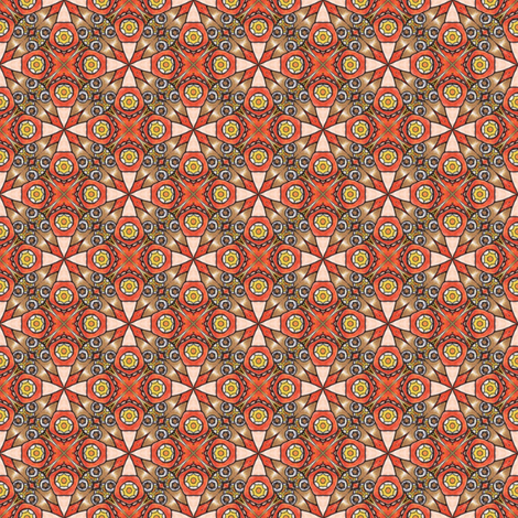 Pariku's Suncross fabric by siya on Spoonflower - custom fabric