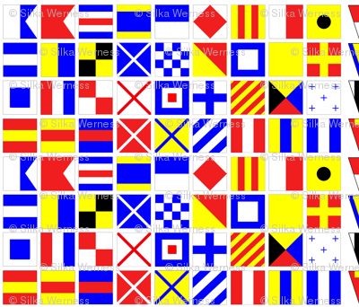 Nautical Flags Small