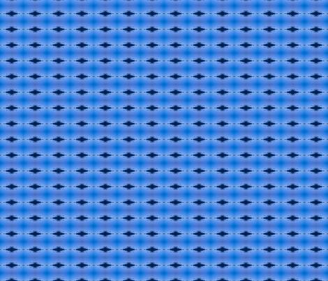 black eye in blue fabric by walkwithmagistudio on Spoonflower - custom fabric