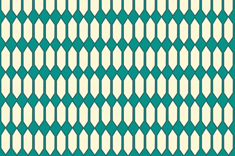lattice_redo_fall_cream fabric by bexcaliber on Spoonflower - custom fabric