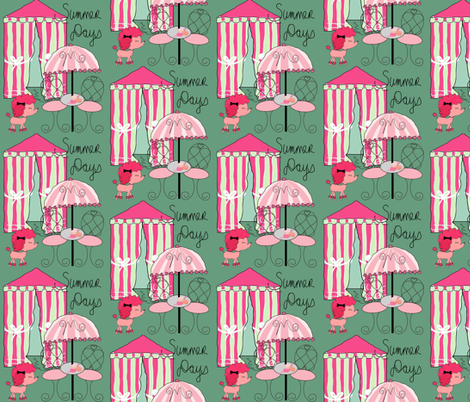Marjorie Dreamed about Summer Days fabric by evelynrosedesigns on Spoonflower - custom fabric