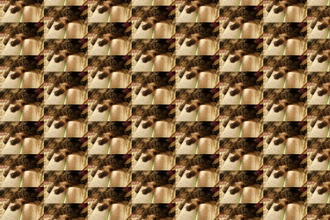 Sudoku Cat fabric by krussimages on Spoonflower - custom fabric