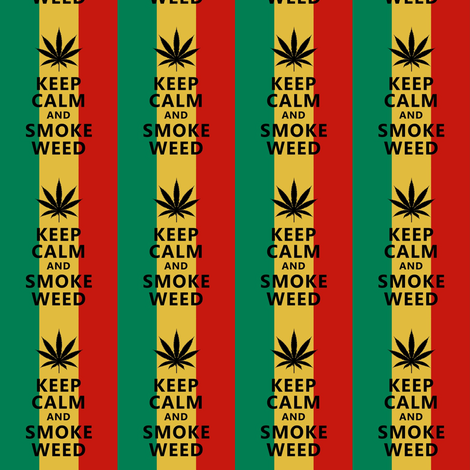 smoke weed fabric by dazeddandelion on Spoonflower - custom fabric