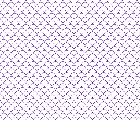 scallops white eggplant fabric by mojiarts on Spoonflower - custom fabric
