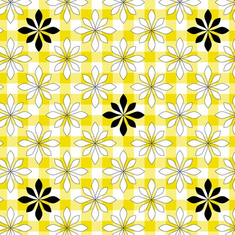 Rrrflowers_on_yellow_check_shop_preview