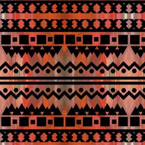 rustic tribal-ed