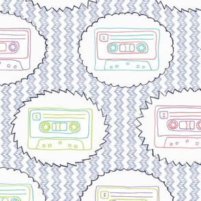 Tape Song: 80s Embroidery Mix