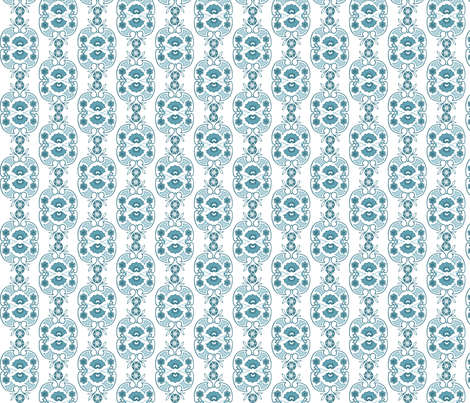 Horizon Blue fabric by bethkyle on Spoonflower - custom fabric