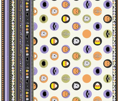HalloweenTreats fabric by jpdesigns on Spoonflower - custom fabric