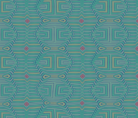 Native Sea fabric by david_kent_collections on Spoonflower - custom fabric