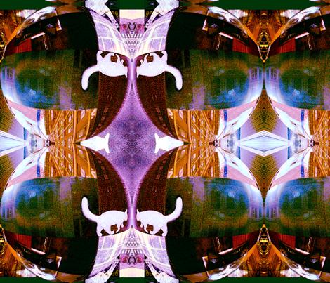 cats_in_the_city_gmmmmmmnk fabric by oscarwilde on Spoonflower - custom fabric