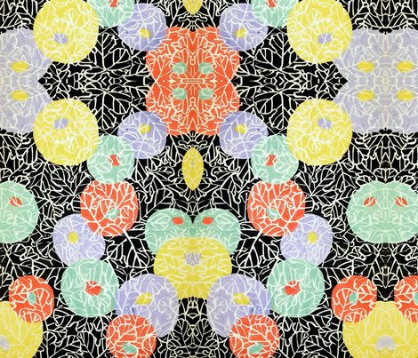 Lamps and vines fabric by quinnanya on Spoonflower - custom fabric