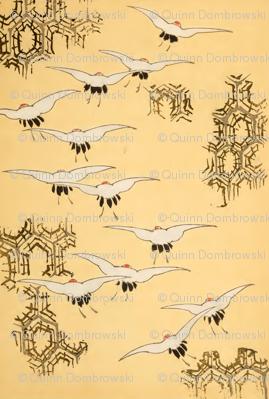 Birds and spiderwebs
