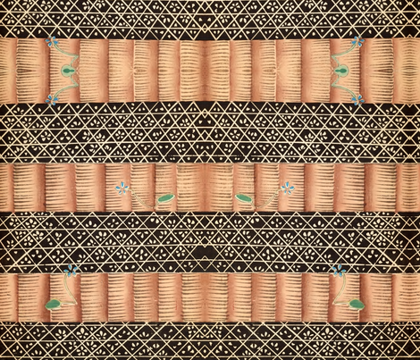 Library fabric by quinnanya on Spoonflower - custom fabric