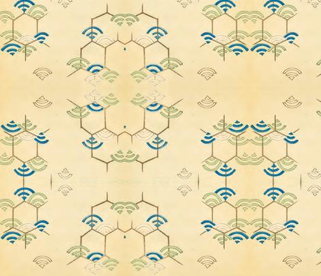Wi-fi fabric by quinnanya on Spoonflower - custom fabric